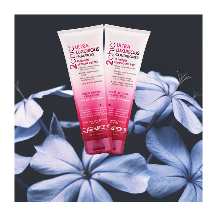 Cherry Blossom & Rose Petals - Ultra-Luxurious Shampoo