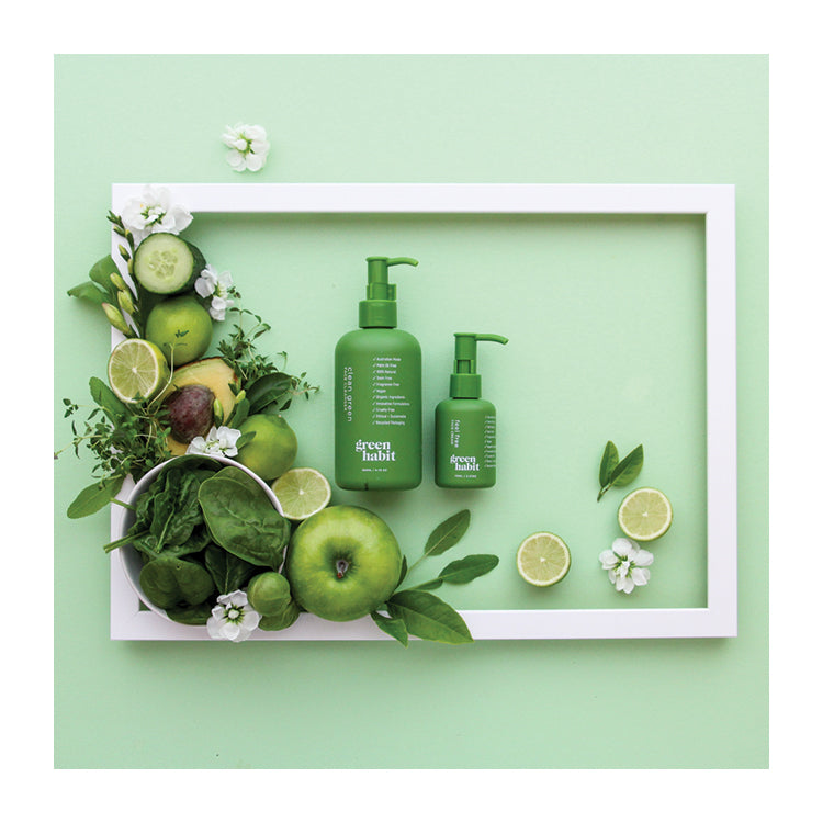 Clean Green - Face cleanser