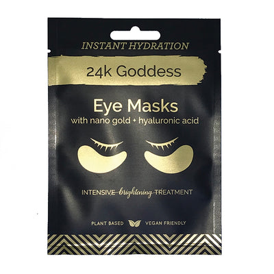 Active Gold Eye Mask - 24k Goddess Four Pack