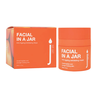 Facial in a Jar - Anti Ageing Exfoliating Mask