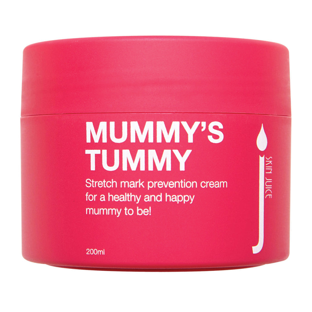 Mummy's Tummy Cream - A healthy alternative to protect and nourish stretching skin.