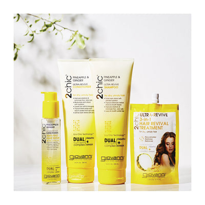 Pineapple & Ginger - Ultra Revive 3 in Hair Revial System
