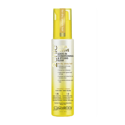 Pineapple & Ginger - Ultra Revive Leave in Conditioning and Styling Elixir
