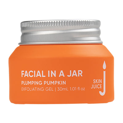 Plumping Pumpkin Exfoliating Gel - Facial in a Jar