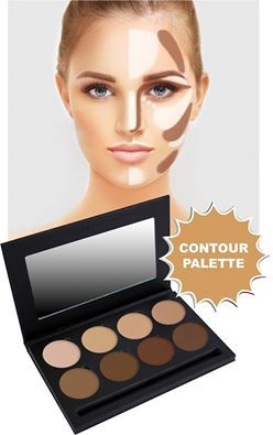 Silk Cream Contouring 8 Well Palette