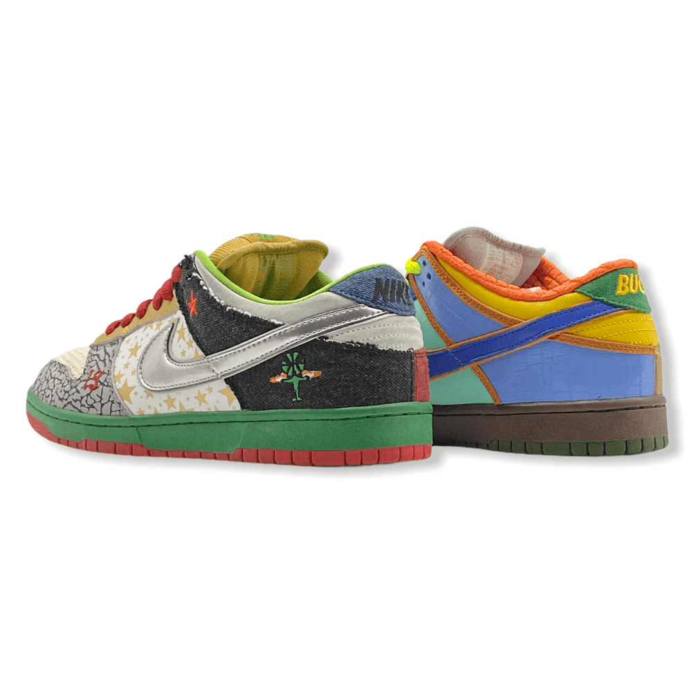 Nike SB Dunk Low What The Size 9.5 (USED) Nike Ptownkicks