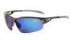 PHO Graphite Frame - Blue Mirror Bifocal Lens