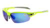 PHO Fluro Yellow Frame - Blue Mirror Bifocal Lens