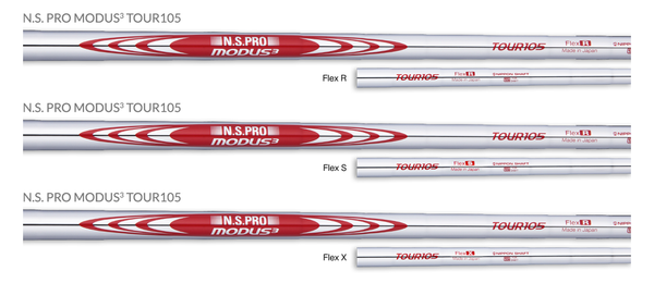 N.S.PRO MODUS3 TOUR 105 iron shaft