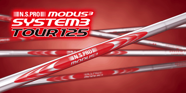 N.S.PRO MODUS3 TOUR 125 Iron shaft