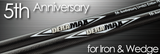 Deramax 5th Anniversary Iron/Wedge Shaft