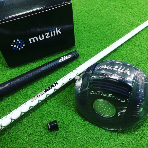 Muziik On The Screw Deep Compact Driver, Deramax 01β premium series driver shaft, Elite grip
