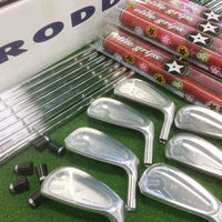 Limited edition (200 sets) Roddio forged irons (4-P), NSPRO Modus 3 105 shafts, Elite grips