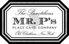 Mr. P's Place Cards logo