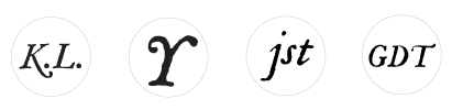 Mr. P's House Font- Italic character chart samples