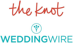 The Knot and Wedding Wire logos