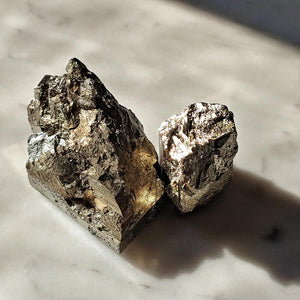 mr. p's pyrite mineral still life