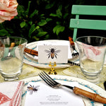 The Punctilious Mr. P's 'Bees' place cards