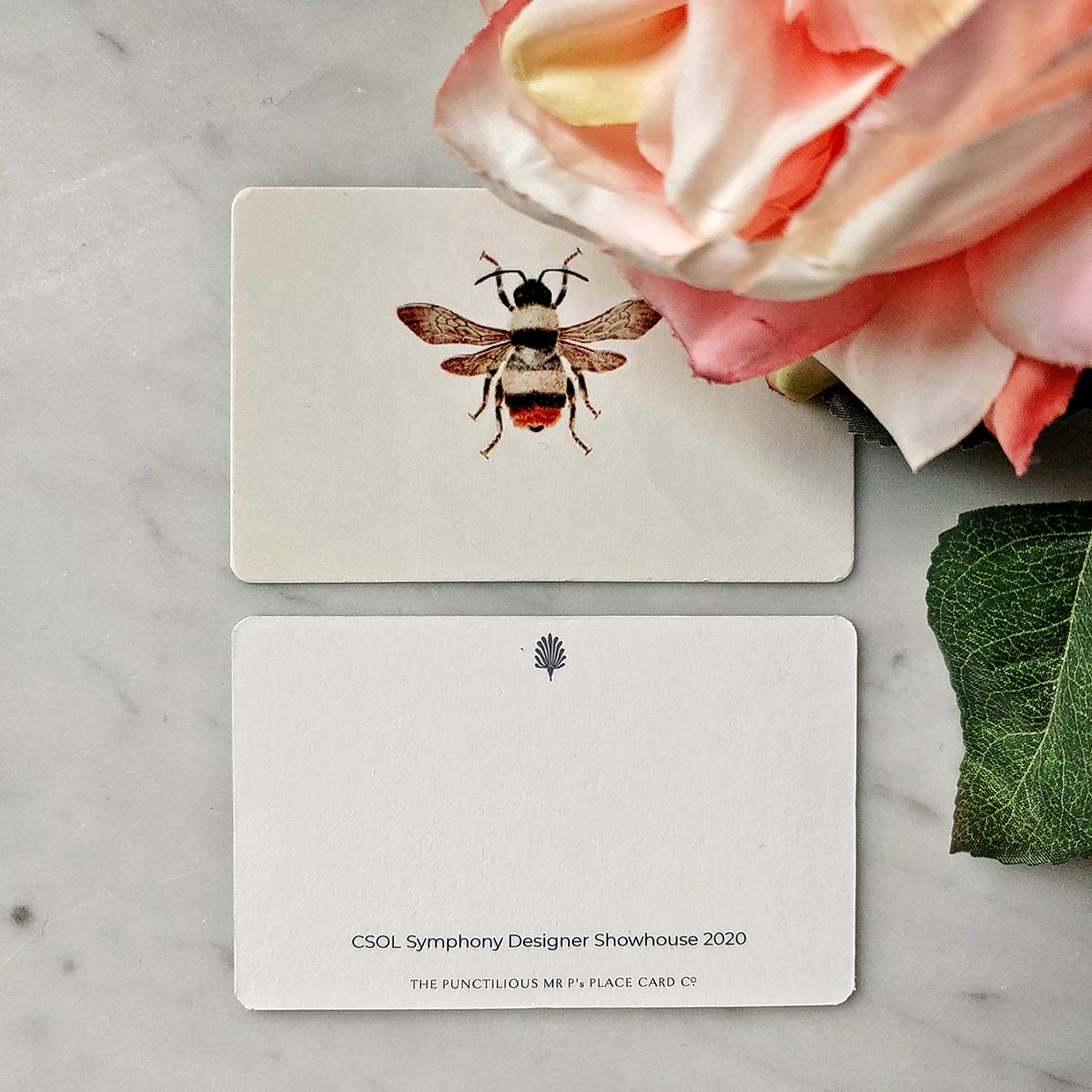 CSOL Spring Bees Place Cards