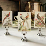 The Punctilious Mr. P's 'Fanciful Pheasants' place cards
