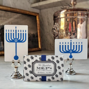 The Punctilious Mr. P's 'Hanukkah' place cards