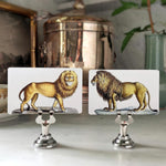 The Punctilious Mr. P's 'Lions' place cards