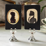 The Punctilious Mr. P's 'Mr. Darcy & Elizabeth' Silhouette Place Cards