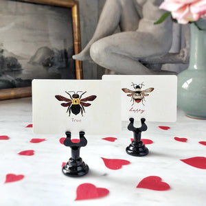 The Punctilious Mr. P's 'Bee Mine' place cards