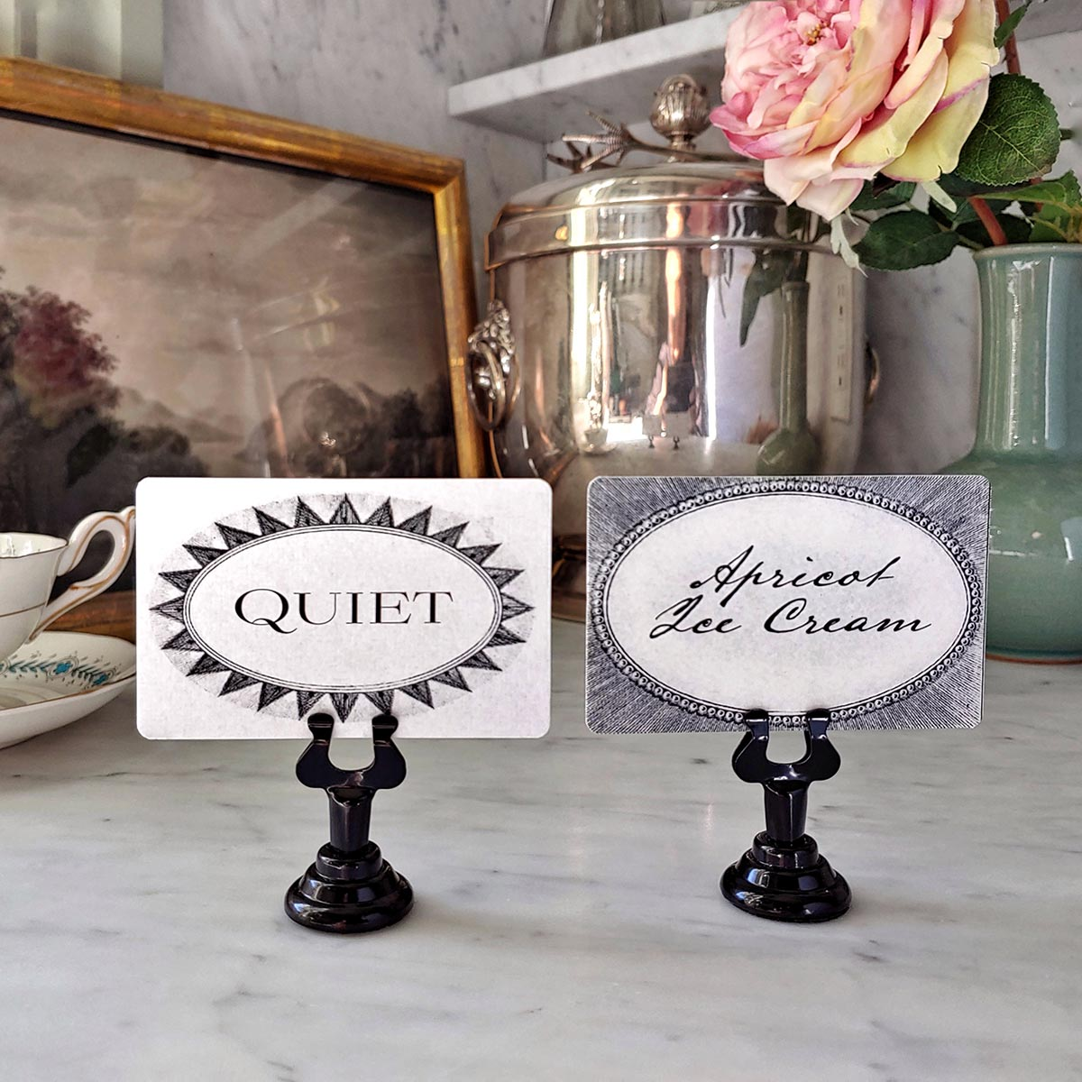 Wedding Bar & Table Tags s/8