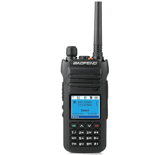 Baofeng CH-6DMR (DMR and Analog) Dual Band Two-Way Radio (144-148MHz VHF & 430-450MHz UHF),Includes Full Kit with Programming Cable