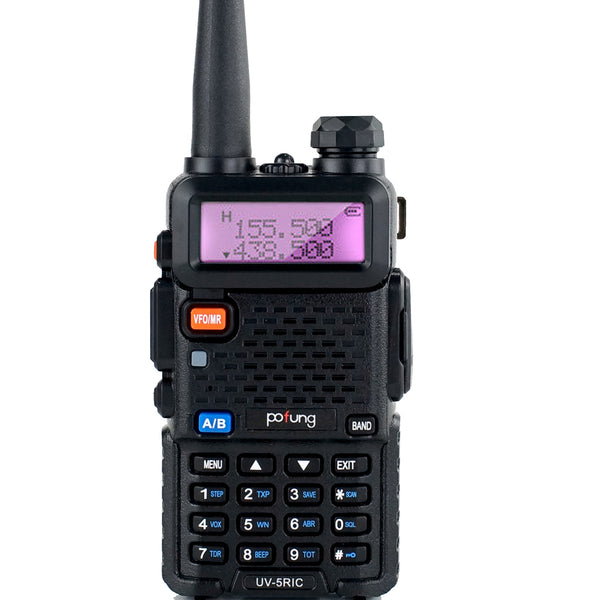 Pofung BaoFeng UV 5RIC VHF 144-148 MHz UHF 430-450 MHz Dual Band Two Way Amateur Radio