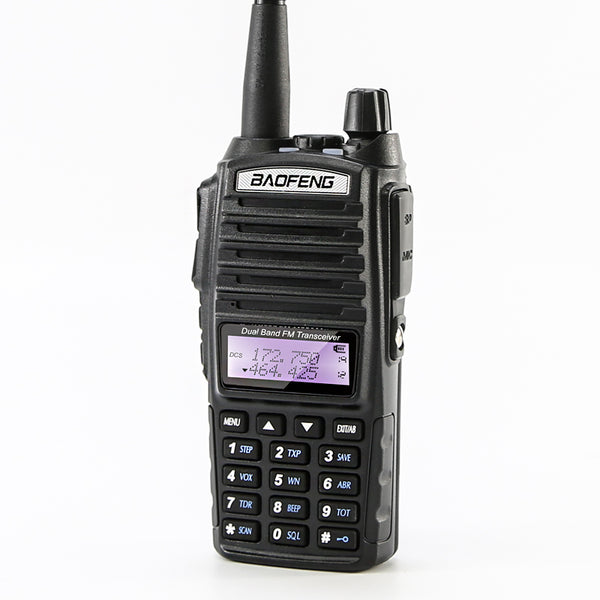 Baofeng UV-82 VHF 144-148 MHz UHF 420-450 MHz Dual Band Two-Way Amateur Radio