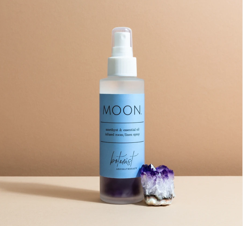 Moon room spray with Amethyst