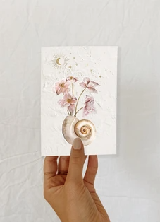 Pansy Shell - Card