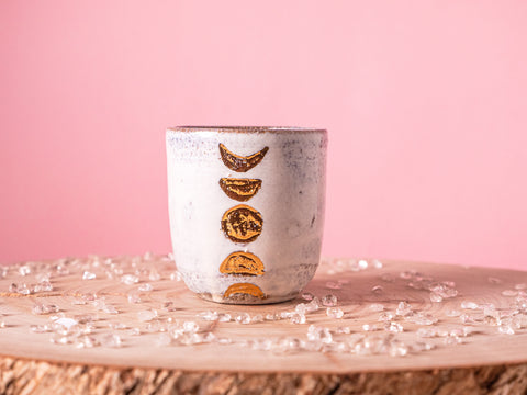 Moon Cacao Cup - White
