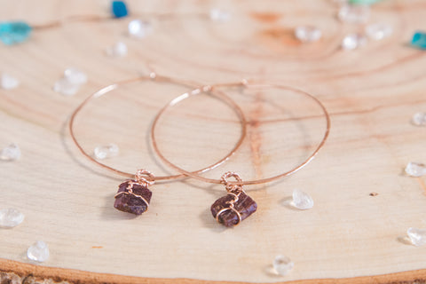Ruby Selene Hoops
