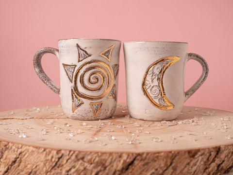 Sacred Moon and Sun Mug
