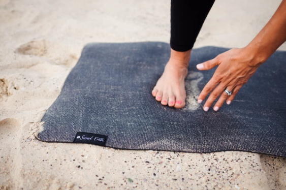 Connected Yoga Mat - Earth Black