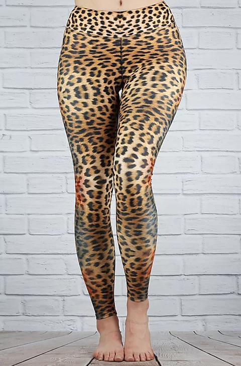 Leopard Leggings - Chimera I