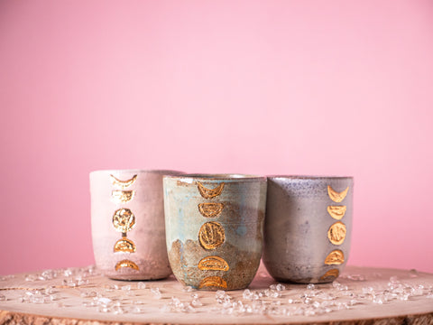 Moon Cacao Cup set of three