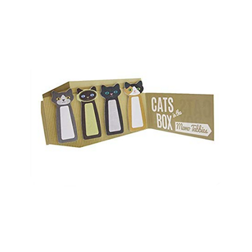 cats in the box memo tabs