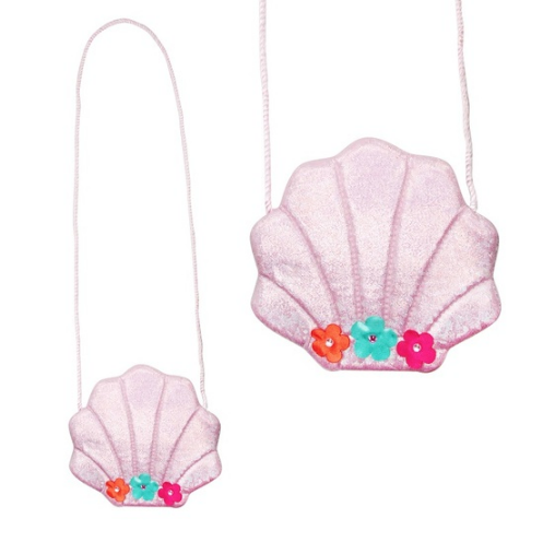 Under the Sea Mermaid Sea Shell Purse