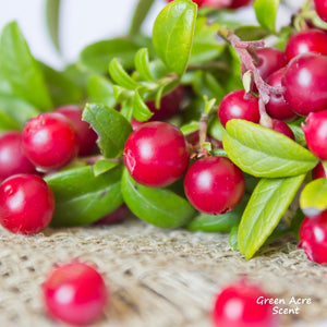 Sweet and tangy, just like cranberry | Blog | Green Acre Scent | Made in Canada