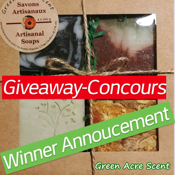 Giveaway Winner from Spring Ottawa Craft Show Contest