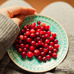 Cranberry | Green Acre Scent | Botanical Skincare Products Handmade in Canada
