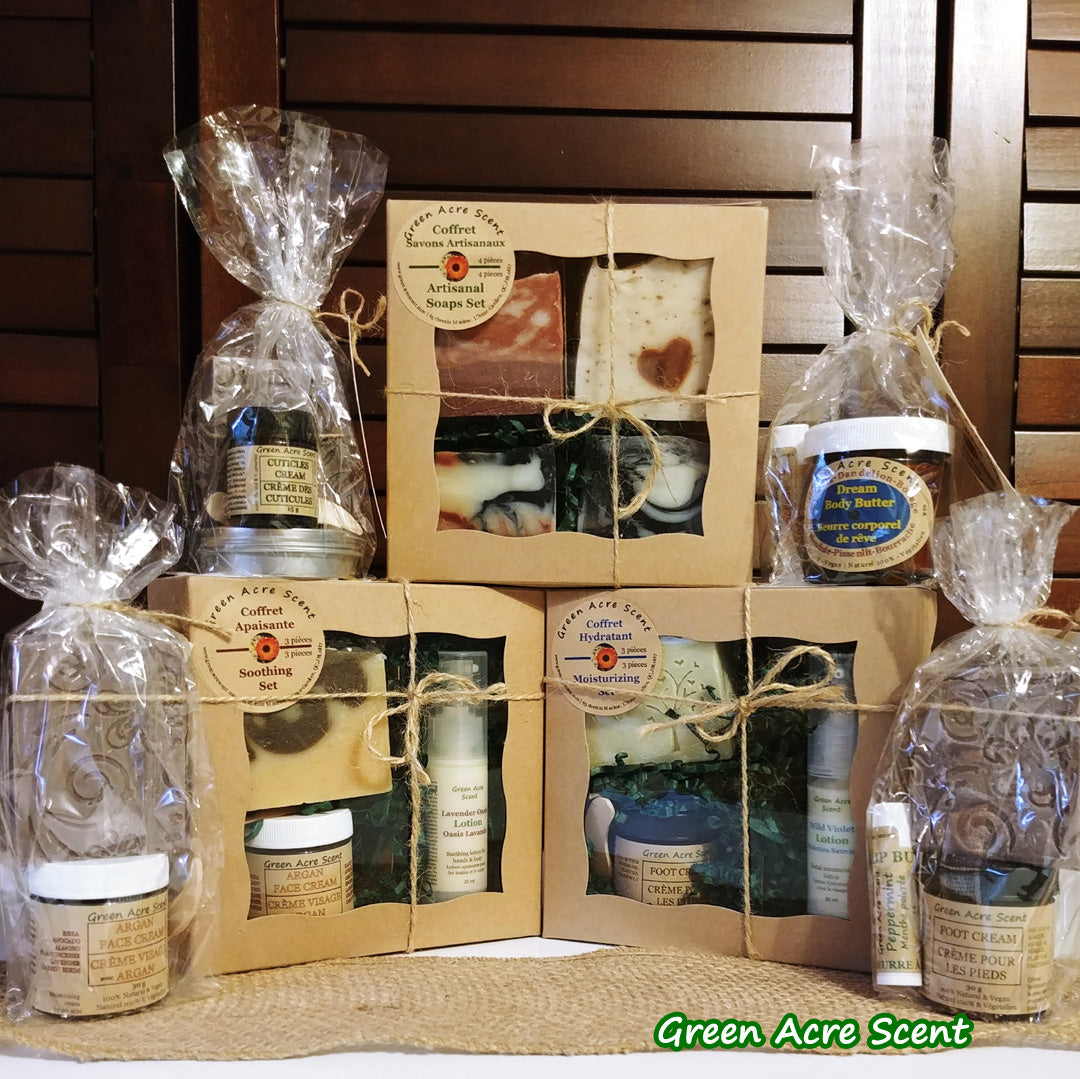 Gift Set Collection - Green Acre Scent | Botanical Skincare Products