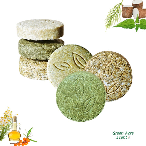 Collection de soins capillaires | Green Acre Scent