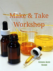 Workshop - Green Acre Scent   Handmade Botanical Skincare Products