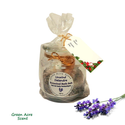 Bath Salts Unwind | Green Acre Scent