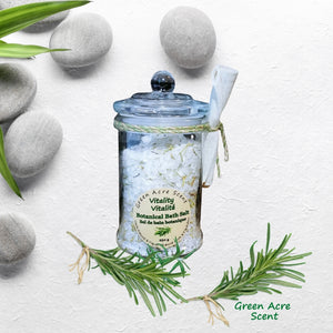 Botanical Bath Salts - Vitality | Green Acre Scent
